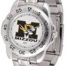 Missouri Tigers Mens' Sport Steel Watch