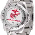 US Marines Mens' Sport Steel Watch
