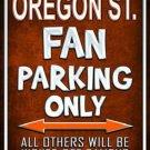 Oregon State Metal Novelty Parking Sign