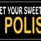 Sweet Dupa I'm Polish Photo License Plate
