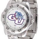 Gonzaga Bulldogs Mens' Sport Steel Watch