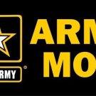 Army Mom Photo License Plate