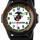 United States Marines Mens' AquaForce EL Light Watch