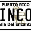 Rincon Puerto Rico Metal Novelty License Plate