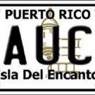 Yauco Puerto Rico Metal Novelty License Plate