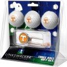 Tennessee Volunteers Cap Tool 3 Ball Gift Pack