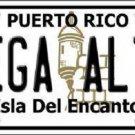 Vega Alta Puerto Rico Metal Novelty License Plate