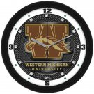 Western Michigan Broncos Carbon Fiber Textured Wall Clock