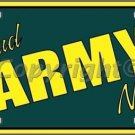 Proud Army Niece Novelty Vanity Metal License Plate