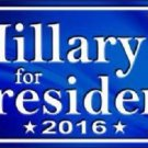 Hillary Novelty Metal License Plate