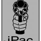 iPac Metal Novelty Parking Sign