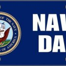 United States Navy Dad Novelty Vanity Metal License Plate