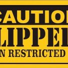 Caution Clippers Vanity Metal Novelty License Plate