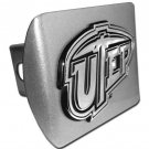 Texas at El Paso Brushed Chrome Hitch Cover