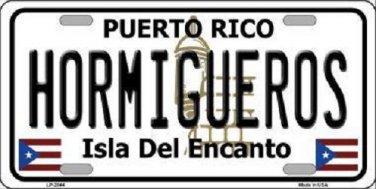 Hormiguesros Puerto Rico Metal Novelty License Plate