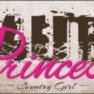 Mud Princess Novelty Metal License Plate LP-8333