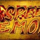Speed Demon Novelty Metal License Plate