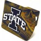 Iowa State Camo Hitch Cover