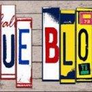 True Blood Wood License Plate Art Novelty Metal License Plate
