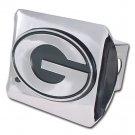 """Georgia (""""G"""") Shiny Chrome Hitch Cover"""