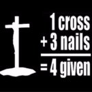 Three Nails and a Cross Photo License Plate