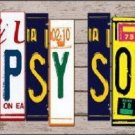 Gypsy Soul Wood License Plate Art Novelty Metal License Plate