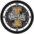 Idaho Vandals Carbon Fiber Textured Wall Clock