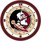Florida State Seminoles Dimensional Wall Clock