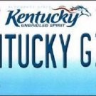 Kentucky Girl Kentucky Novelty Metal License Plate