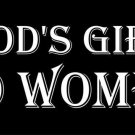 Gods Gift To Woman Photo License Plate