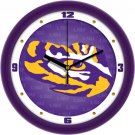 LSU Tigers Dimensional Wall Clock