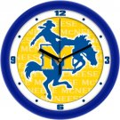 McNeese State Cowboys Dimensional Wall Clock