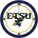 ETSU Buccaneers Traditional Wall Clock