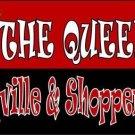Queen Of Prudeville Metal Novelty License Plate