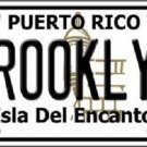 Brooklyn Puerto Rico Novelty License Plate