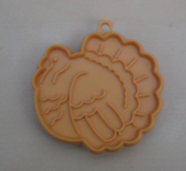 Hallmark Cookie Cutter Small Thanksgiving Turkey Gold