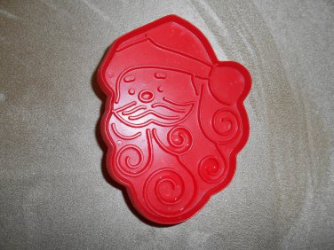 Hallmark Red Santa Face Curly Beard