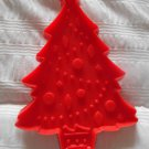 Hallmark Red Christmas Tree Cookie Cutter Vintage Holiday