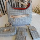 Nine West Purse Handbag with Wallet and Accessories