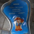 Vintage Amscan Clancy the Clown Cake Pan Mold 26127