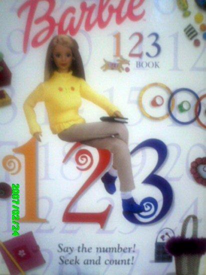 Barbie Number 123 Book