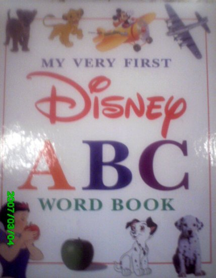 My Very First Disney ABC Book