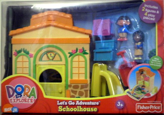 Fisher Price Dora the Explorer - Lets go Adventure School House