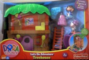 Fisher Price Dora the Explorer - Lets Go Adventure Tree House