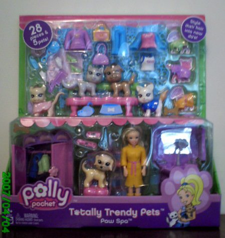 Polly Pocket - Totally Trendy Pets Paw Spa