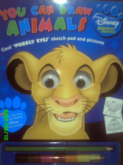 You Can Draw Animals - Disney Animal Characters Book