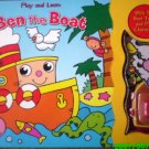 Play and Learn Book with Ben the Boat - 4in 1 [Book, Puzzle, Toys & Character Plays]