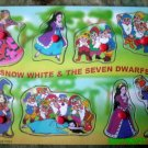 Snow White and the Seven Dwarfs - A Fairytale 8 Piece Wooden Puzzle for Toddlers