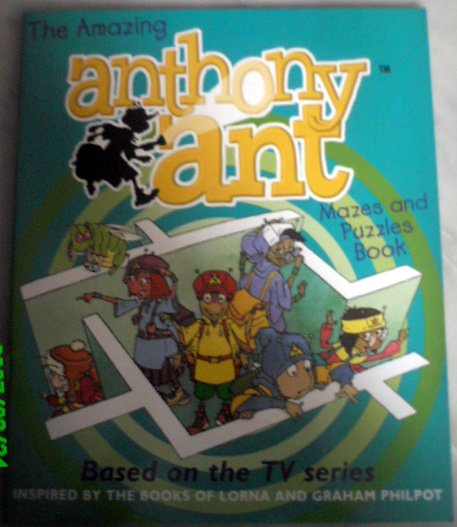 The Amazing Anthony Ant Mazes And Puzzles Book