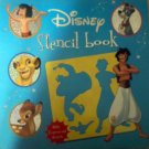 Disney Animated Cartoon Caracters - Drawing or Stencil Book for Kids